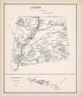 Lisbon, Sugar Hill, New Hampshire State Atlas 1892 Uncolored